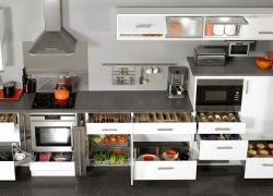 Điểm danh những mẫu phụ kiện tủ bếp dưới thông minh và tiện ích