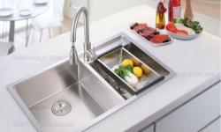 Nên sử dụng chậu và vòi rửa bát loại thường hay cao cấp?