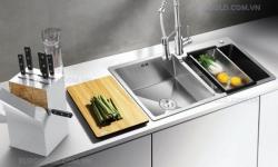 Kinh nghiệm chọn chậu và vòi rửa bát phù hợp với căn bếp của bạn