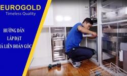 Hướng dẫn lắp đặt giá liên hoàn góc mở phải EPS102 Eurogold