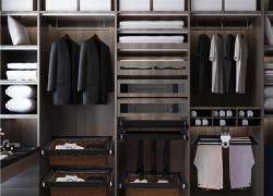 Top 8 phụ kiện tủ áo thông minh màu đen sang trọng
