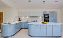 20+ mẫu tủ bếp màu xanh đẹp đến nào lòng!