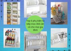 Top 6 phụ kiện tủ bếp INOX 304 cần có cho mọi không gian bếp