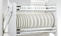 Có nên dùng giá bát nâng hạ cho tủ bếp hiện đại không?