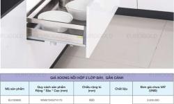 Báo giá trọn bộ phụ kiện tủ bếp inox Eurogold mới nhất 2021