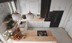 Cách bố trí các ngăn tủ bếp tối ưu đảm bảo công năng