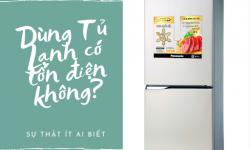 Dùng tủ lạnh có tốn điện không?