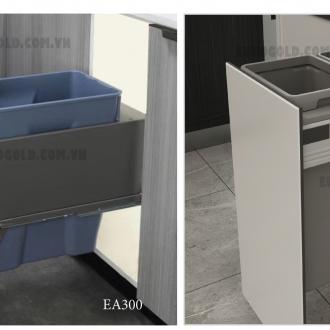 Thùng rác âm tủ giảm chấn cao cấp