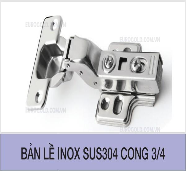 Những ưu điểm tuyệt vời chỉ có ởBản lề inox SUS304 cong 3/4 Eurogold Bản lề inox SUS304 cong 3/4 làm bằng inox 304 bảo hành gỉ vĩnh viễn, bề mặt inox sáng bóng kiểu dáng trọng và sang trọng. Được thiết kế tinh gọn, dễ dàng sử dụng. Thiết kế đơn giả, tích hợp giảm chấn tháo lắp dễ dàng. Tùy vào tủ của nhà mình mà bạn có thể chọn bản lề cong ½, ¾ và thẳng cho phù hợp với nhà mình. Thông tin thêm về thương hiệu Eurogold Eurogold là thương hiệu sản phẩm của công ty Cổ phần Đầu Tư Hoàng Gia Châu u Euroking. Được thành lập từ năm 2013, với sự tin tưởng và ủng hộ của khách hàng, công ty chúng tôi đã không ngừng lớn mạnh, trở thành một trong những doanh nghiệp hàng đầu về cung cấp phụ kiện nội thất nói chung và phụ kiện tủ áo nói riêng. Với hệ thống đại lý rộng khắp trên toàn quốc, quý khách hàng có thể dễ dàng lựa chọn cho mình những phụ kiện tủ áo, phụ kiện tủ bếp ưng ý nhất. Hiện tại, công ty chúng tôi không bán lẻ mà chỉ phân phối qua hệ thống các đại lý trên 64 tỉnh thành. Nếu bạn quan tâm và muốn tìm hiểu về sản phẩm của chúng tôi, bạn có thể để lại thông tin tại đây hoặc liên hệ với chúng tôi theo địa chỉ dưới đây để được hỗ trợ tư vấn kịp thời. CÔNG TY CỔ PHẦN ĐẦU TƯ HOÀNG GIA CH U U EUROKING (Tổng công ty phân phối sản phẩm Eurogold chính thức tại Việt Nam) Hotline chung: 19000125 Cơ sở miền bắc: Chợ Mới Tam Hiệp – Huỳnh Cung – Thanh Trì – Hà Nội. Hotline: 02462 603 604 Cơ sở miền nam: Số 69 Trịnh Hoài Đức - Phường Hiệp Phú - Quận 9 - Tp Hồ Chí Minh. Hotline: 028 6689 3636 Mail: hotro.eurogold@gmail.com Website (chính thức và duy nhất): eurogold.com.vn CÔNG TY CỔ PHẦN ĐẦU TƯ HOÀNG GIA CH U U EUROKING (Tổng công ty phân phối sản phẩm Eurogold chính thức tại Việt Nam) Hotline chung: 19000125 Cơ sở miền bắc: Chợ Mới Tam Hiệp – Huỳnh Cung – Thanh Trì – Hà Nội. Hotline: 02462 603 604 Cơ sở miền nam: Số 69 Trịnh Hoài Đức - Phường Hiệp Phú - Quận 9 - Tp Hồ Chí Minh. Hotline: 028 6689 3636 Mail: hotro.eurogold@gmail.com Website (chính thức và duy nhất): eurogold.com.vn Một