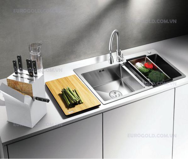 Hình ảnh tổng quan về chậu rửa bát EUS18245