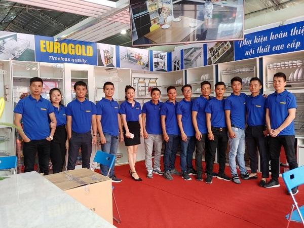 Eurogold tham dự hội chợ triển lãm vietbuild 2019