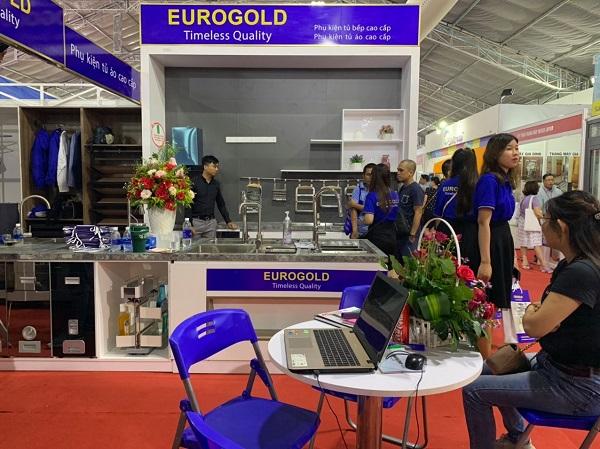 Gian hàng Eurogold tại hội chợ Vietbuild 2020