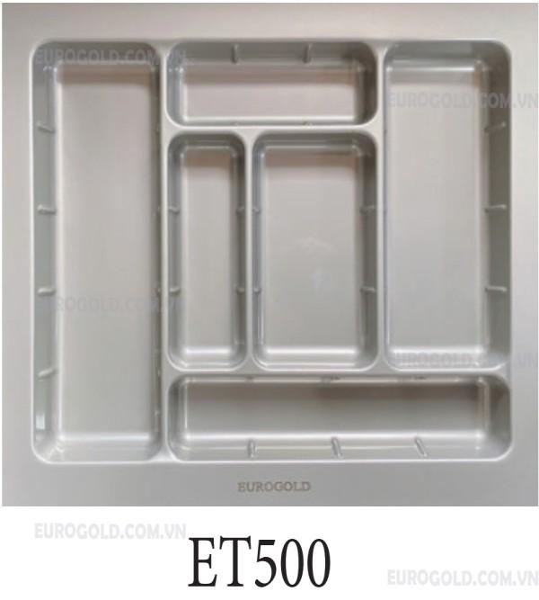 Khay chia thìa nĩa chất liệu nhựa cao cấp Eurogold