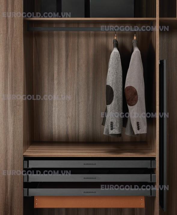 thanh treo quần áo cao cấp eurogold