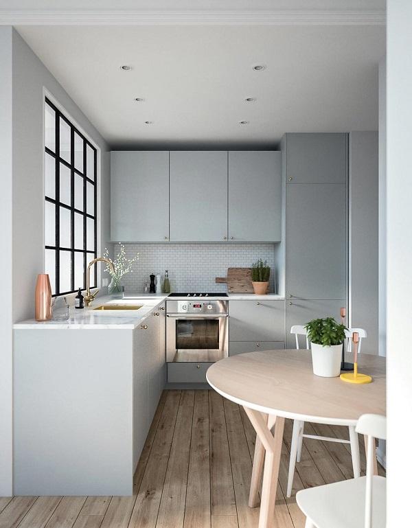 Thiết kế phòng bếp đẹp hiện đại