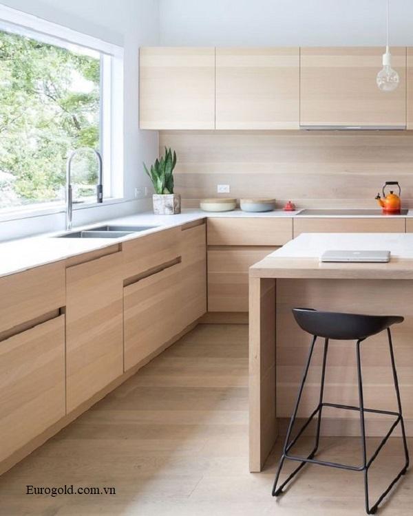 Mẫu tủ bếp đẹp và hiện đại