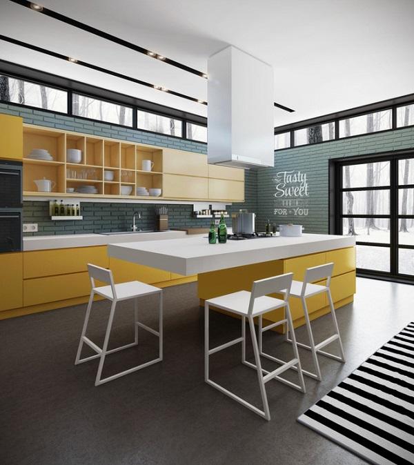 Mê mẩn những mẫu thiết kế phòng bếp đẹp đơn giản
