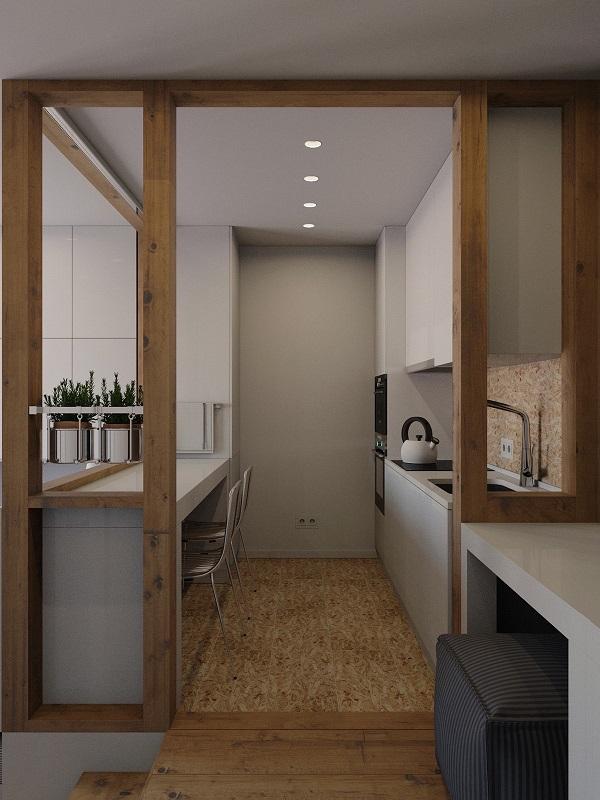 Gợi ý 16 mẫu thiết kế phòng bếp nhỏ