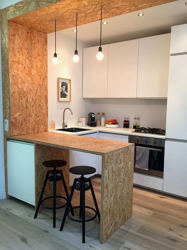 Gợi ý 16 mẫu thiết kế phòng bếp nhỏ đẹp