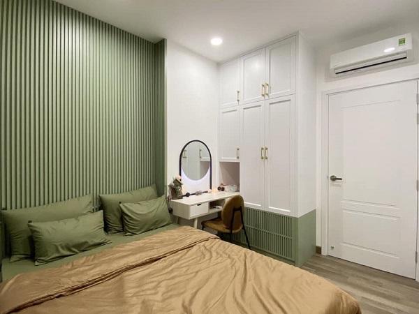 thiết kế phòng ngủ nhỏ trong chung cư 70m2