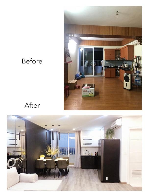 Cải tạo bếp cũ thành không gian tiện nghi cuốn hút