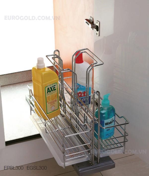 giá đựng chai lọ tẩy rửa Eurogold