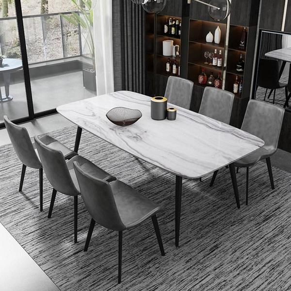 Mẫu bàn ăn đẹp cho căn bếp hiện đại