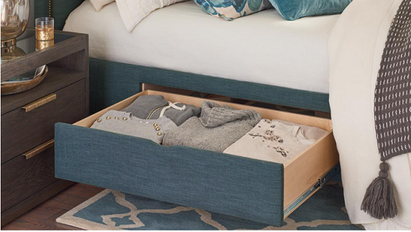 tủ để đồ dưới gầm giường