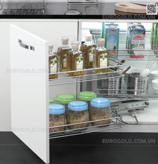 Giá liên hoàn nan ray giảm chấn Eurogold