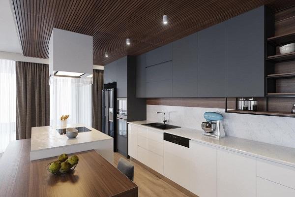 Mẫu thiết kế phòng bếp cho nhà cấp 4