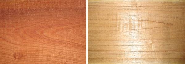 phân biệt gỗ xoan đào và gỗ xoan ta
