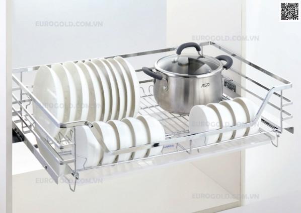 Hầu hết các phụ kiện tủ bếp tại Eurogold đều được phủ một lớp sơn tĩnh điện