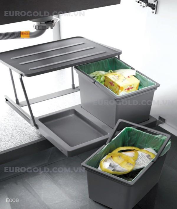 Thùng rác âm tủ cao cấp Eurogold