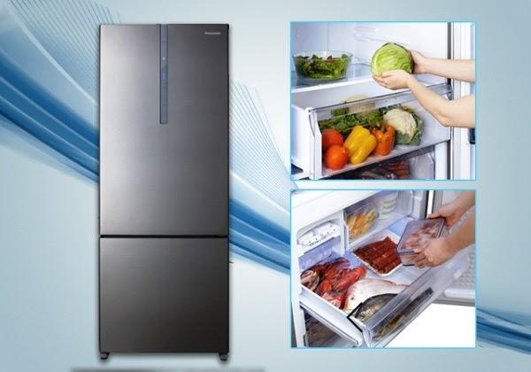 Tủ lạnh 2 ngăn, ngăn đá bên dưới, ngăn mát bên trên